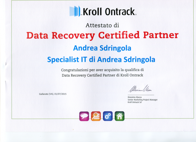 kroll ontrack data recovery certified partner - specialist ...